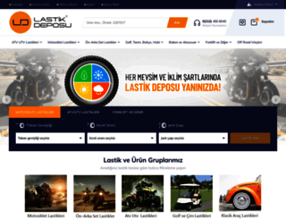 lastikdeposu.com.tr screenshot