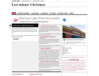 lastminutechristmas.com screenshot