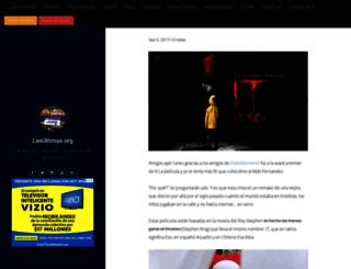lasultimas.org screenshot