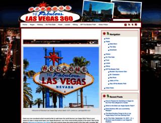 lasvegas360.com screenshot