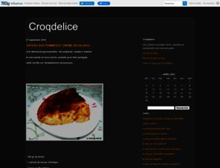 latabledemeline.canalblog.com screenshot