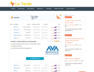 latarde.com.ec screenshot