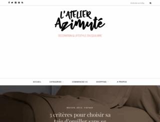 latelier-azimute.fr screenshot