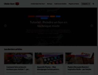 lateliergeant.geant-beaux-arts.fr screenshot