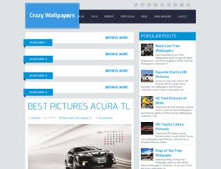 latestcrazywallpapers.blogspot.com screenshot