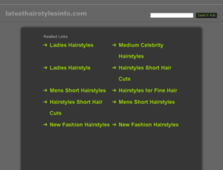 latesthairstylesinfo.com screenshot
