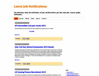 latestjobnotifications.blogspot.in screenshot