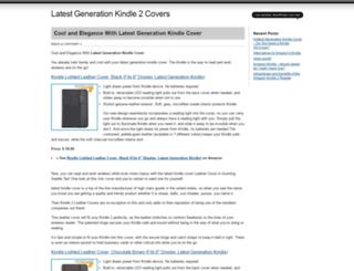 latestkindlecovers.wordpress.com screenshot