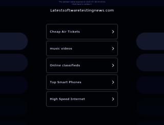 latestsoftwaretestingnews.com screenshot