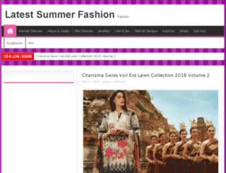 latestsummerfashion.com screenshot
