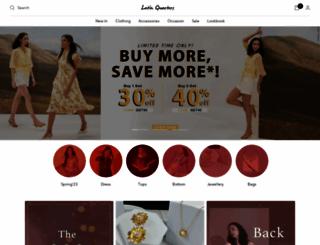 latin-quarters.com screenshot