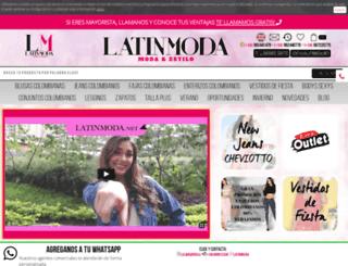 latinmoda.net screenshot