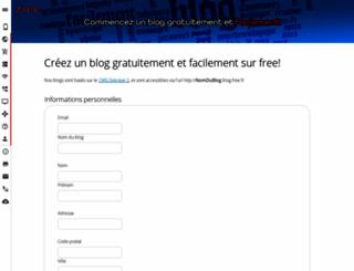 laudiophile.blog.free.fr screenshot