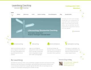 lauenborg-coaching.dk screenshot