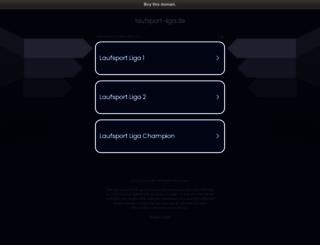 laufsport-liga.de screenshot