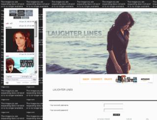 laughterlinees.b1.jcink.com screenshot