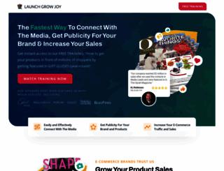 launchgrowjoy.com screenshot