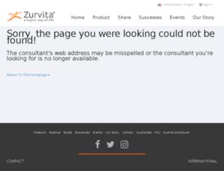 laurafrey.zealforlife.com screenshot