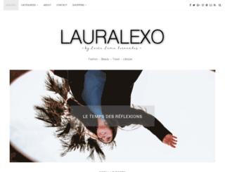 lauralexo.com screenshot