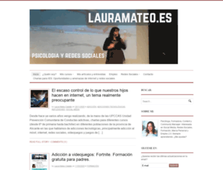 lauramateo.es screenshot