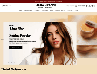 lauramercier.com screenshot