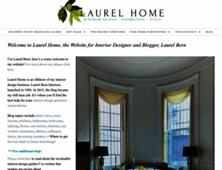 laurelberninteriors.com screenshot