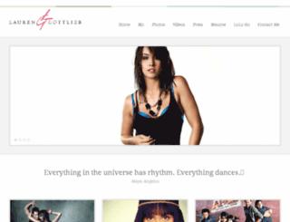 lauren-gottlieb.com screenshot