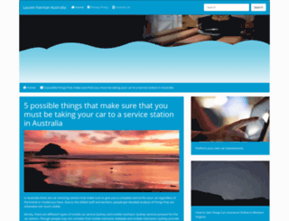 laurenharman.com screenshot