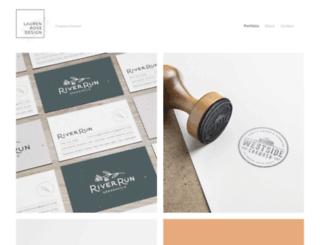 laurenrosedesign.com screenshot