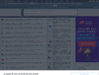 laurent-piechocki.developpez.com screenshot