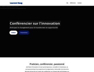 laurenthaug.com screenshot