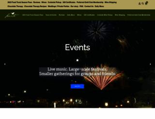 lauritawinery.com screenshot