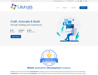 lauruss.com screenshot