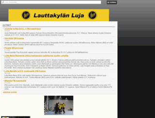 lauttakylanluja.fi screenshot