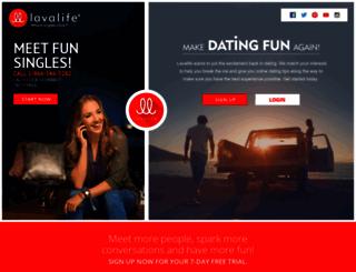 lavalife.com screenshot