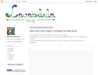 lavandula-art.blogspot.com screenshot