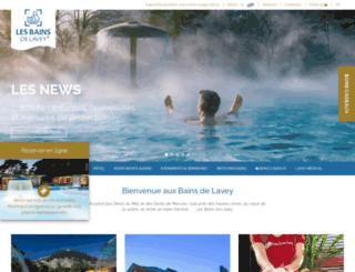 lavey-les-bains.ch screenshot
