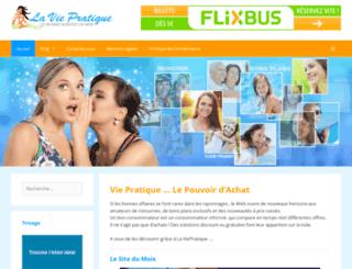 lavie-pratique.com screenshot