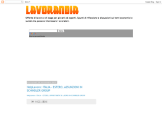 lavorandia.blogspot.com screenshot