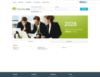 lavoro.org screenshot