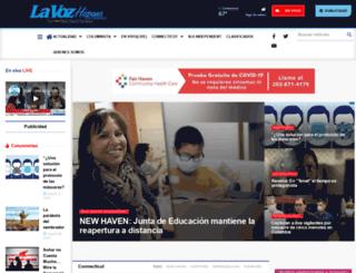 lavozhispanact.com screenshot