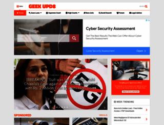 law.geekupd8.com screenshot