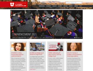 law.utah.edu screenshot