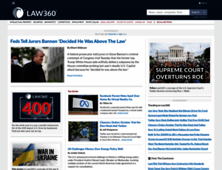 law360.com screenshot