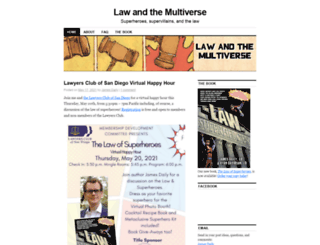 lawandthemultiverse.com screenshot