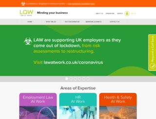 lawatwork.co.uk screenshot