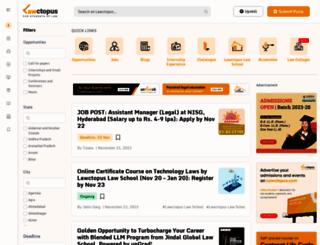 lawctopus.com screenshot