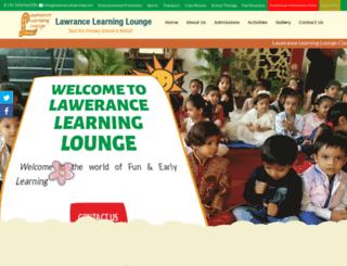 lawerancelearning.com screenshot