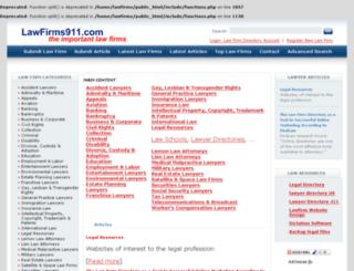 lawfirms911.com screenshot