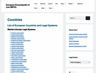 lawlegal.eu screenshot